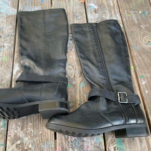 New Kenneth Cole Skinny Love Leather Boots